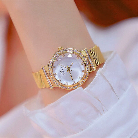 2019 New Inswind Rose Gold Brand Watches for Women, Waterproof and Fashion Watches for Students