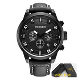 OCHSTIN Men's Watch Quartz Sports Watches Men 3D Face Clock Military Army Hodinky Waterproof Wrist Watch Male Relogio Masculino