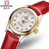 Carnival Women Watches top Luxury Brand ladies Automatic Mechanical Watch Women Sapphire Waterproof relogio feminino reloj mujer