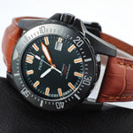 Parnis Automatic Diver Watch Waterproof 200m Metal Mechanical Men's Watches Sapphire Glass mekanik kol saati relogio automatico