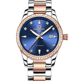 Rose gold Women Watches Top brand luxury CARNIVAL Automatic Watch Women Calendar Sapphire Waterproof Luminous Montre femme 2018