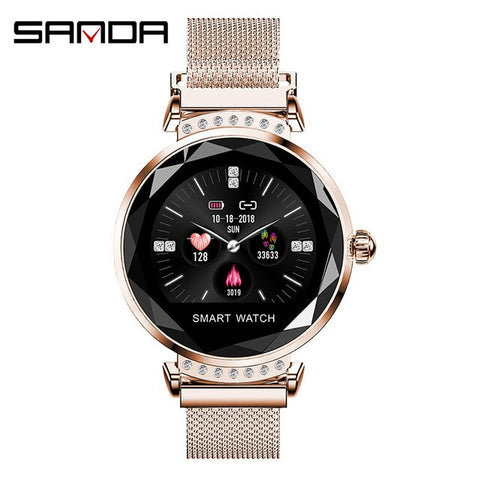 SANDA Women's Watches Quartz Watches Waterproof Female Lady Wrist Watch Clock Sports Watches Luxury Christmas Woman Watch