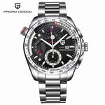 PAGANI DESIGN Luxury Military Chronograph Sport Watches Men Quartz Fashion Waterproof Big Dial Mens Business Gift Wrist Watch