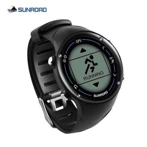 Relogio Masculino SUNROAD Digital GPS Sport Watch Men's Smart Bluetooth Heart Rate Monitor Calories Counter Pedometer Clock Men
