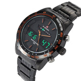 Hot style students waterproof sports watch quartz multifunctional men's wrist watch
