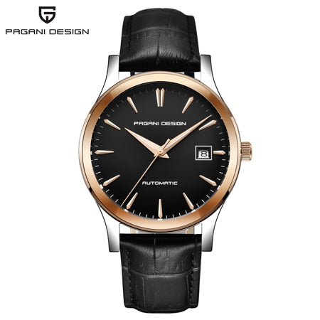 PAGANI DESIGN Top Brand Men Mechanical Watch Waterproof Leather Casual Business Men Watch Relogio Masculino