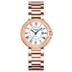Switzerland CARNIVAL 9MM Ultra-Thin Quartz Watch Woman Fashion Rose gold Full Steel Luxury Ladies Wrist Watches for Women Clock