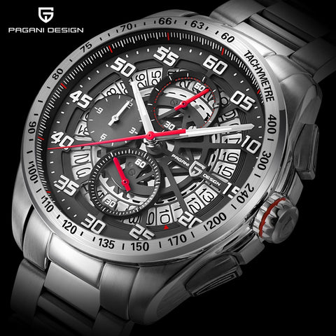 Original PAGANI DESIGN Top Luxury Brand Sports Chronograph Men's Watches Waterproof Quartz Watches Clock Relogios Masculino saat