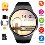 Bluetooth Smart Watch Men Support SIM TF Card Heart Rate Monitor Pedometer Waterproof Fitness Sport Watch For Android IOS iPhone