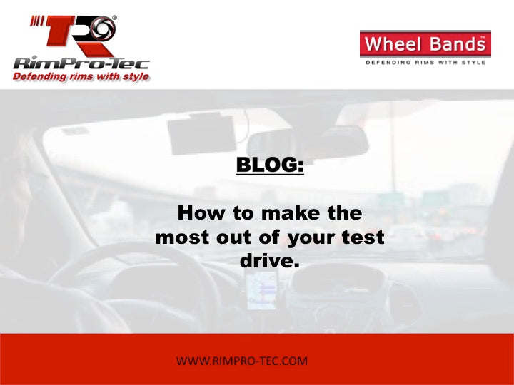 How to make the most out of your test drive
