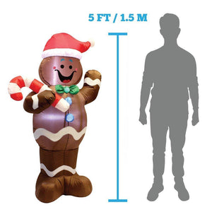Christmas Gingerbread Man Inflatable