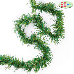 Green Holiday Garland, 1 Pack (50 ft)