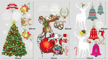 Load image into Gallery viewer, Colorful Holiday Wall Decals