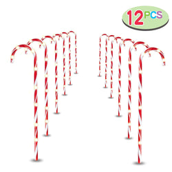 "28"" Christmas Candy Cane Pathway Markers"