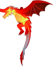 Load image into Gallery viewer, Tall Hanging Flying Dragon Inflatable (5 ft)