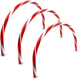 Candy Cane Arch Pathway Markers Lights