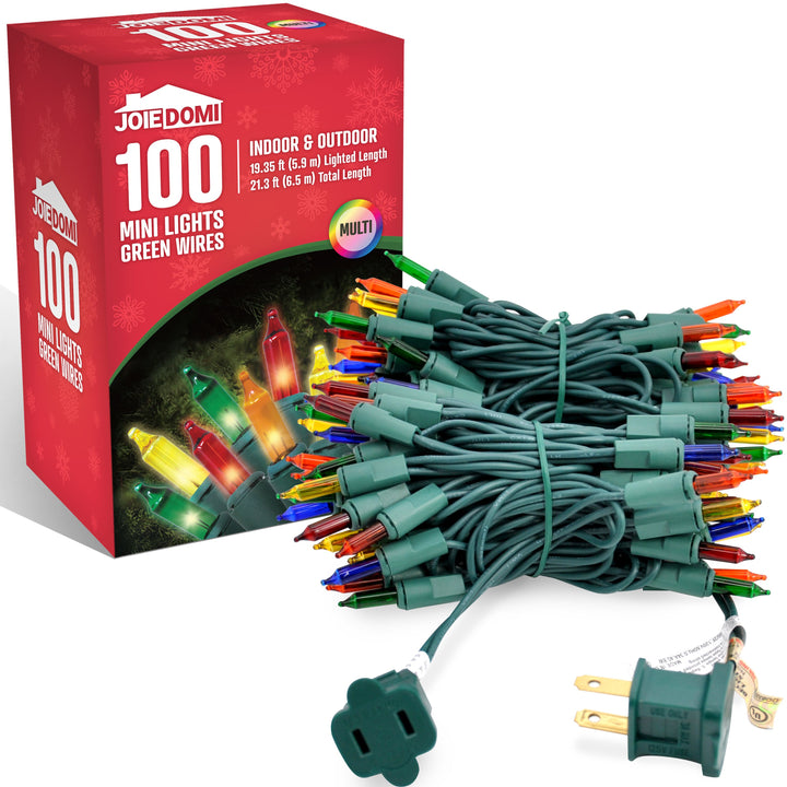 100-Count Multi Color Christmas Lights