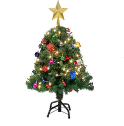 DIY Christmas Tree with Decorating Kits, 2.5 ft