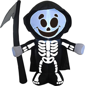 Tall Haunted Reaper Inflatable (5 ft)