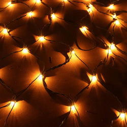 2 Packs,150 Incandescent Christmas Net Lights, Warm White