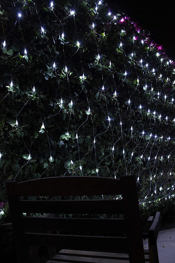 200 LED Net Lights, Pure White