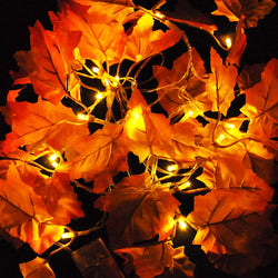 14.7 ft Maple Leaves String Light, 2 Pcs