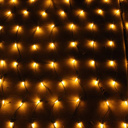 100 LED Christmas Net Lights, Warm White