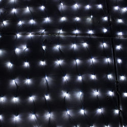 150 LED Net Lights, Pure White