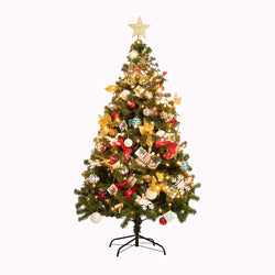 6 Ft Prelit Christmas Tree with Decoration Kit