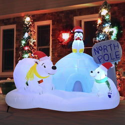 Large North Pole Inflatable (6 ft)