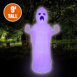 Jumbo Spooky Scary Horror Ghost Inflatable (9 ft)