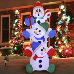 Large Snowman Inflatable (6 ft)