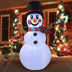 Large Snowman Inflatable V2 (6 ft)