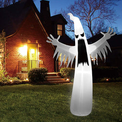 Giant Towering Spooky Ghost Inflatable (12 ft)