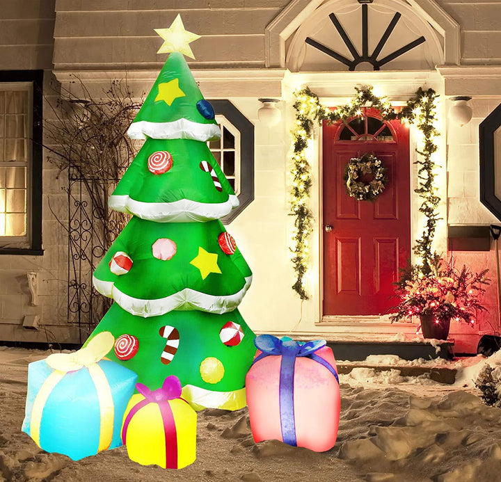 Large Christmas Tree with Presents Inflatable (7 ft)
