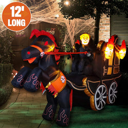 Giant Long Carriage Inflatable (12 ft)