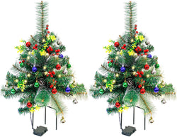 2 Set Pathway Christmas Trees