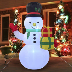 Tall Snowman Christmas Inflatable (5 ft)