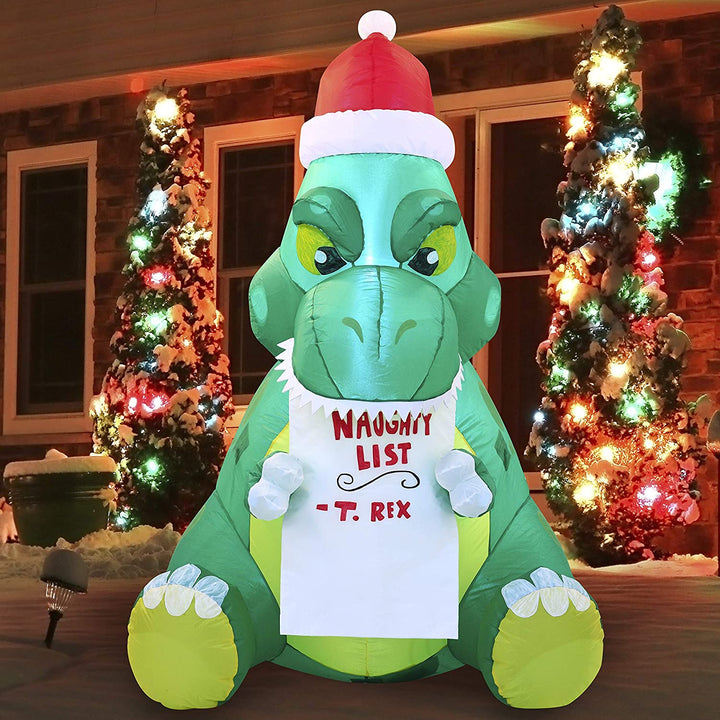 Tall Sitting Dinosaur Inflatable (5 ft)