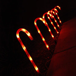 "17"" Christmas Candy Cane Pathway Markers"