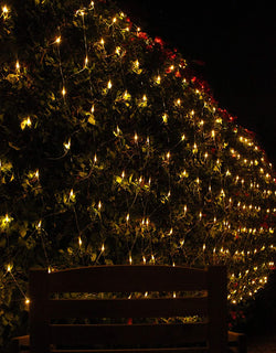 300 LED Christmas Net Lights, Warm White