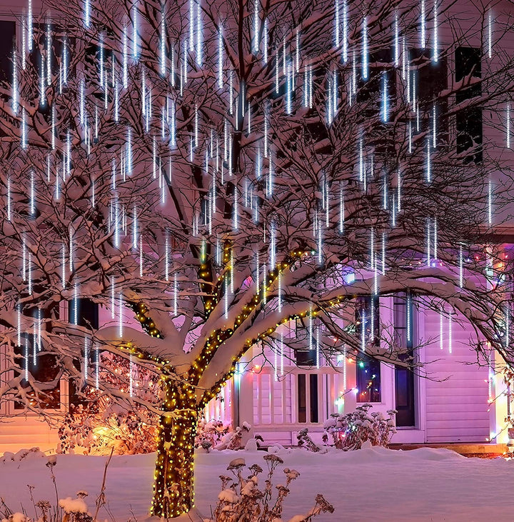 Christmas Meteor Shower Icicle String Lights