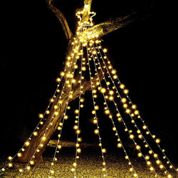 335 LED Tree Decoration Star Lights, Warm White