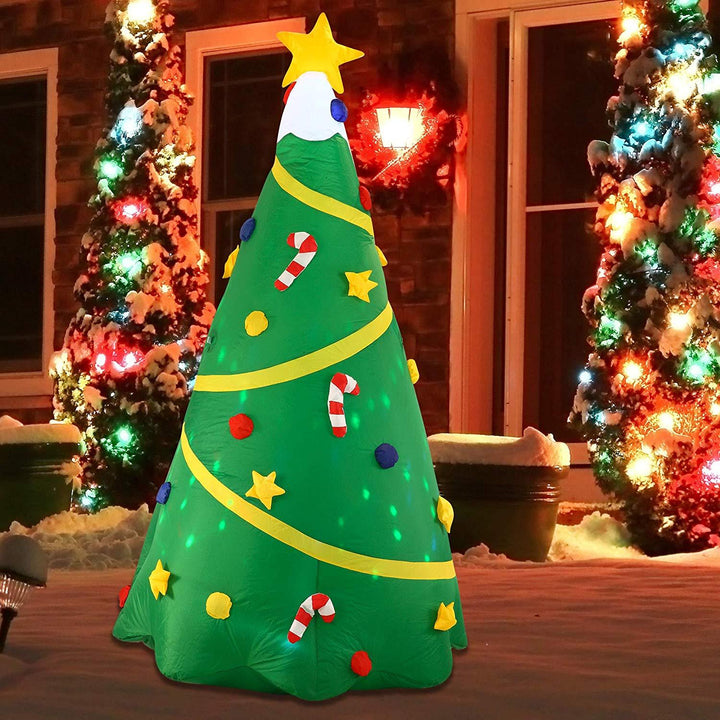 Jumbo Christmas Tree with Lights Inflatable (8 ft)