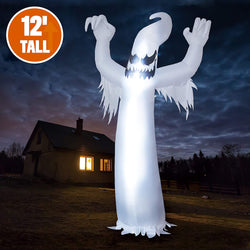 12 Feet Halloween Inflatable Scary Spooky Ghost