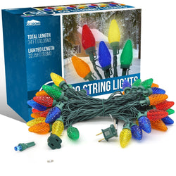 50-Count C9 Christmas Light (Multicolor)