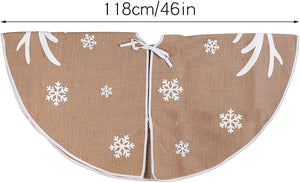 "48"" Christmas Tree Skirt (Reindeer)"