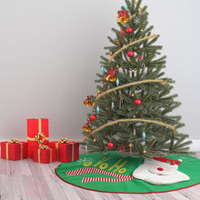 "Load image into Gallery viewer, 48"" Christmas Tree Skirt (Santa)"