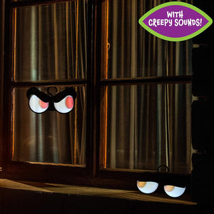 Halloween Flashing Peeping Eyes Lights (3 Pack); Sound-activated