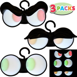 Halloween Flashing Peeping Eyes Lights (3 Pack); Dark-activated